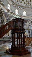 The tallest pulpit ..