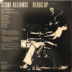 STONE ALLIANCE:HEADS UP(JACKET B)