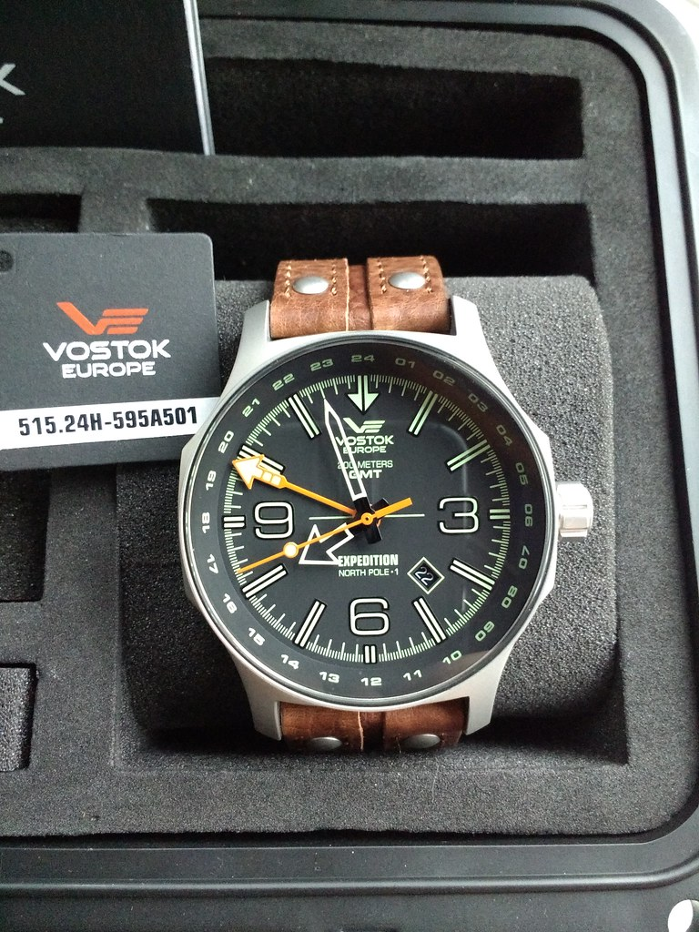 Vostok Europe Dual Time Expedition N1 (Ronda 515.24H-5954501) (2)