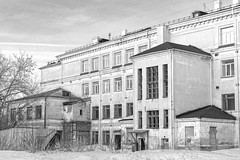 Building from 1930's in Kemerovo city