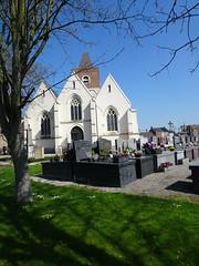 Haverskerque, l'église Pas-de-Calais