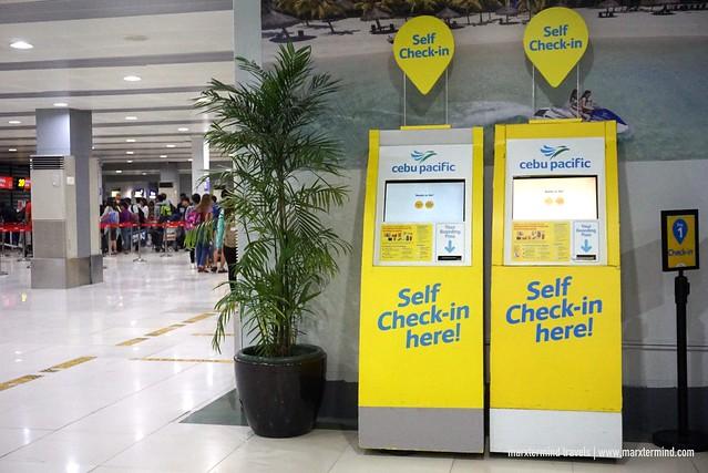 NAIA Terminal 4 Self-Check In Kiosks