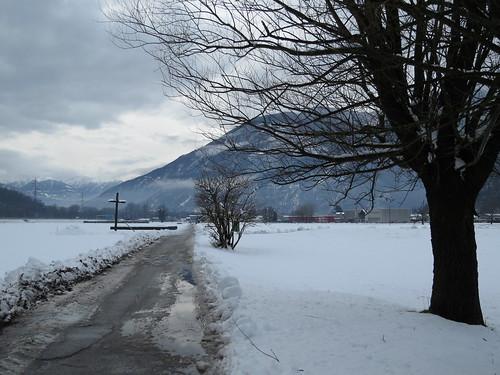 Si le silence devait s'incarner en une matière, ce serait dans la neige