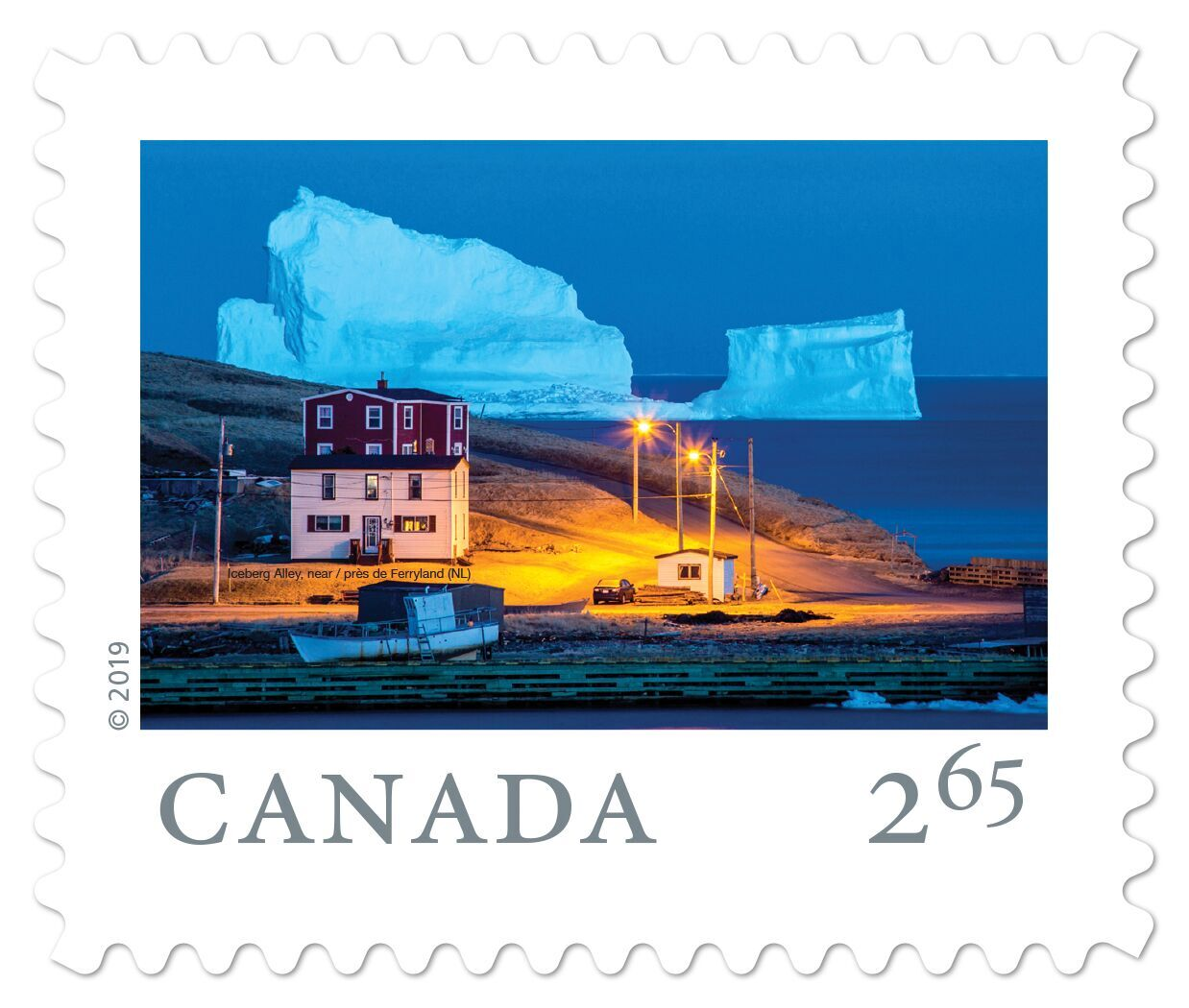 Canada - From Far and Wide (January 14, 2019) Iceberg Alley, Newfoundland (international rate from booklet of 6)