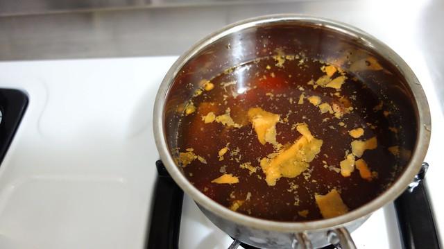 冷藏解凍後可以看到它浮著牛油@良金牧場金門高粱半筋半肉牛肉湯
