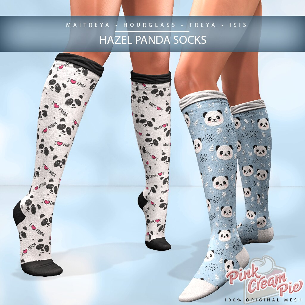 Hazel Panda Socks @ Fly Buy Friday - TeleportHub.com Live!