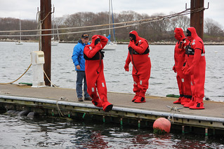 Immersion Suit training