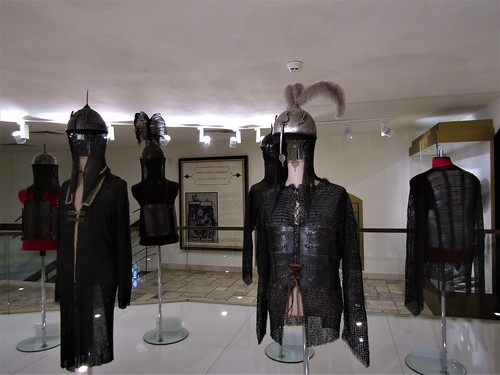Knights armor in Malbork Castlein Poland