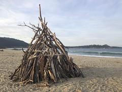 Driftwood Teepee/Carmel River Beach