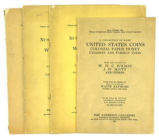 Wayte Raymond W.W.C. Wilson sales