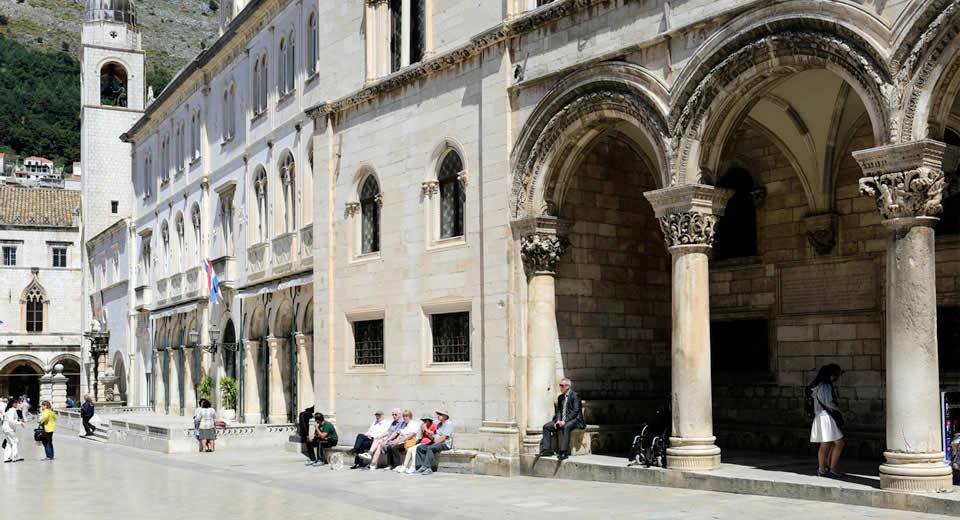 Bezienswaardigheden Dubrovnik: Rectors Paleis | Mooistestedentrips.nl