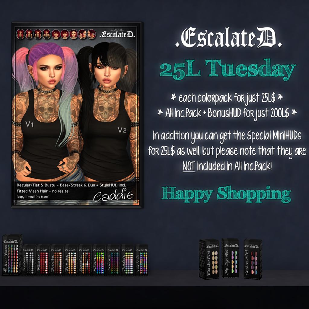 .EscalateD. | 25LTuesday | 26.Feb.19 - TeleportHub.com Live!