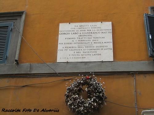 2015 Via Giulia Casa dei patrioti Labo e Mattei c