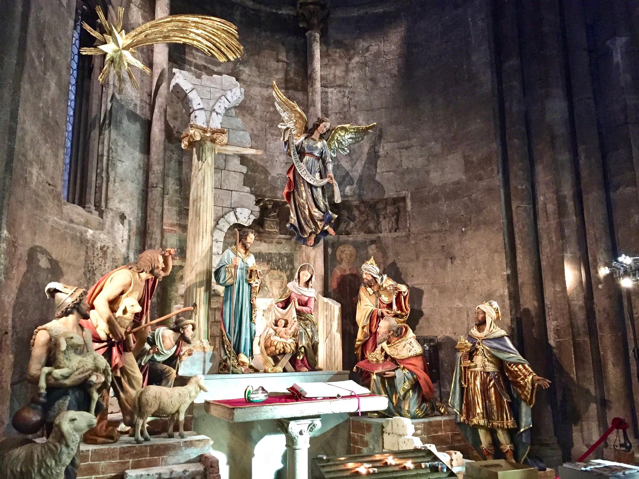 Itinerario di Trento - Presepe nel Duomo