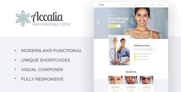 Accalia v1.2.1 - Dermatology Clinic WordPress Theme