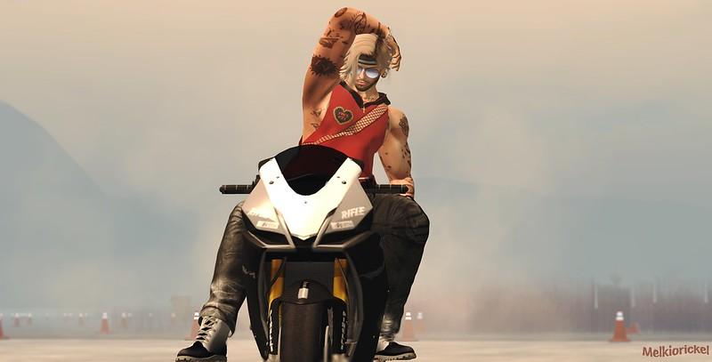 Melkiorickel , the biker