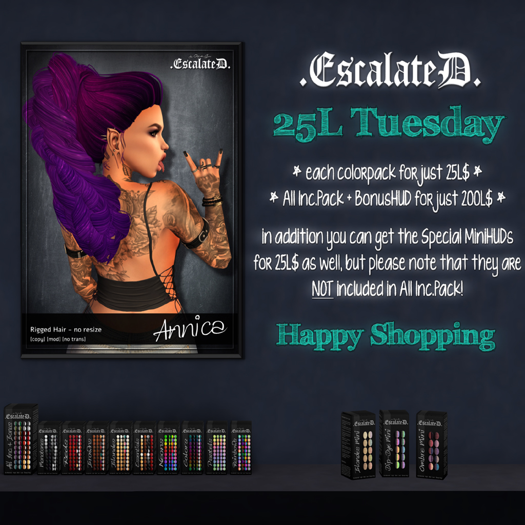 .EscalateD. | 25LTuesday | 19.Feb.19