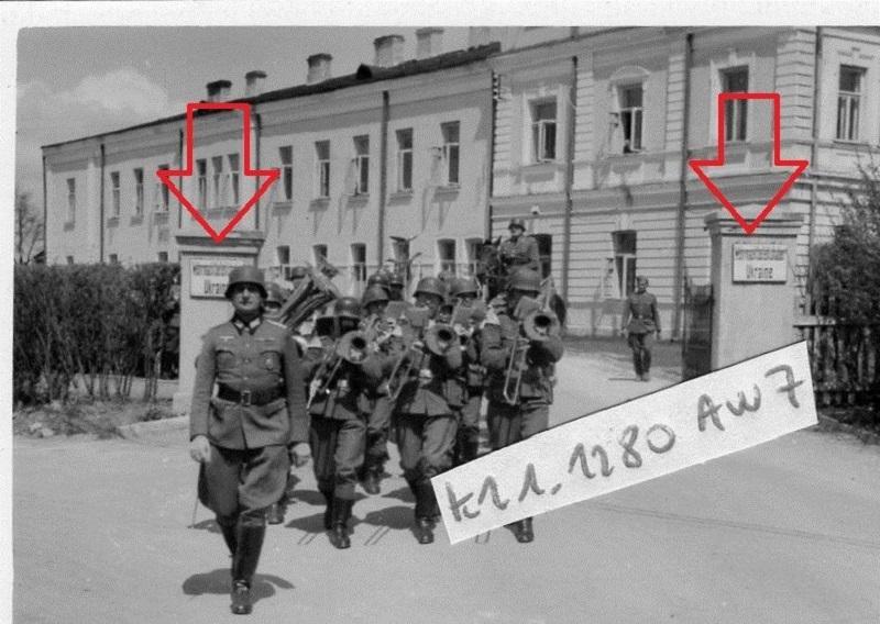 урочитості з нагоди дня народження Гітлера за участю Кітцінгера, 1942 р. Rowno, 1942-2