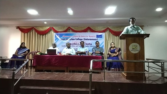 Conference on Ethics in Higher Education, Nagercoil, India, 2 March 2019