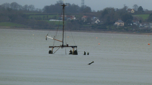 Wreck, Exe estuary