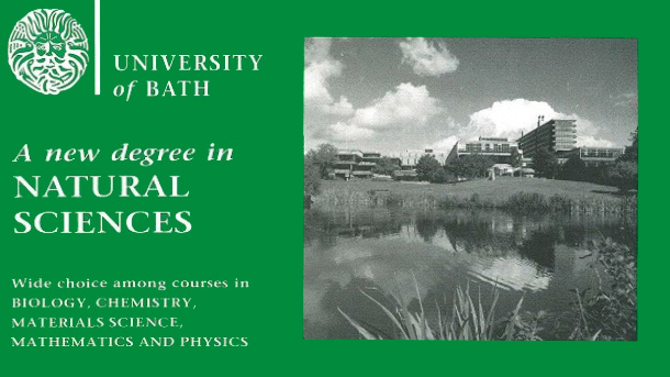 An old natural sciences brochure