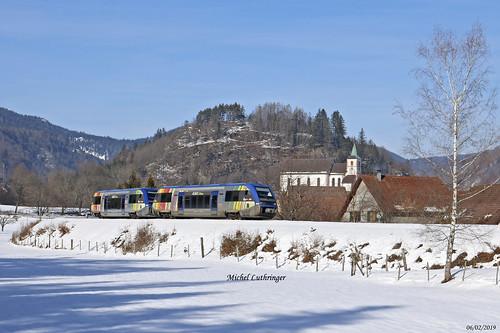 UM X73908-X73906-Alsace Saarland-TER 832777 Kruth-Mulhouse à Oderen