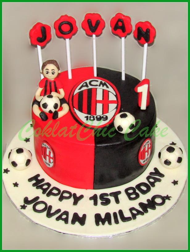 Cake AC Milan JOVAN 15 cm