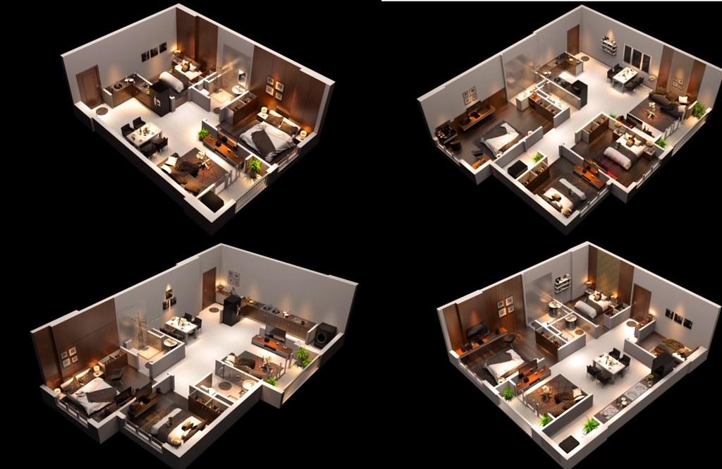 Mặt bằng tầng Tổng quan dự án căn hộ chung cư Raemian Đông Thuận Quận 12