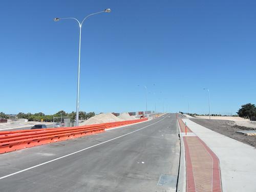Beechboro Road North Overpass Reid Highway Before Opening