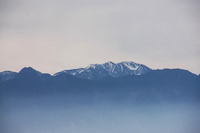 加里山山頂展望--大劍山