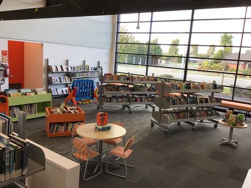 Children's area, Parklands Library