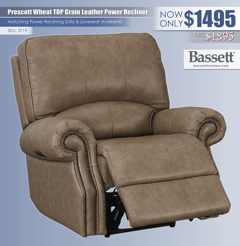 Prescott Wheat Top Grain Leather Recliner_3719_update