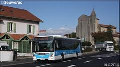 Iveco Bus Urbanway - SPL Trans-Landes / Yégo n°1425
