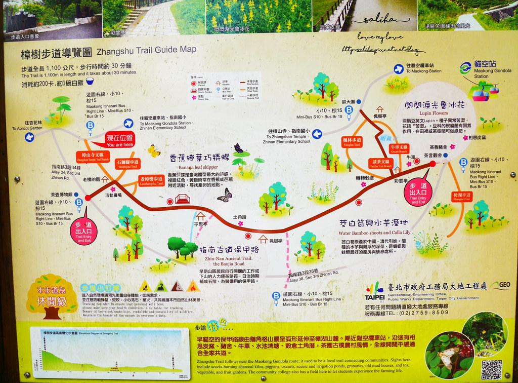 台北貓空貓懶附近景點推薦踏青登山玩樂地圖