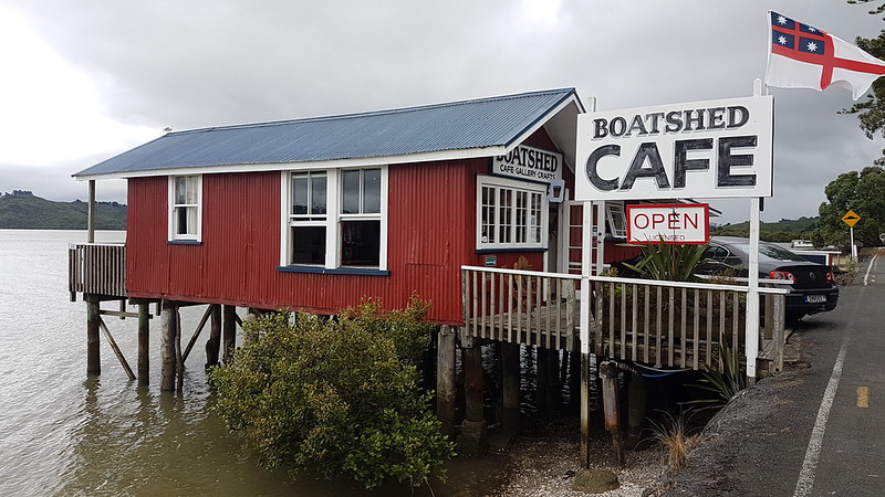 Boat Shed Café Rawene