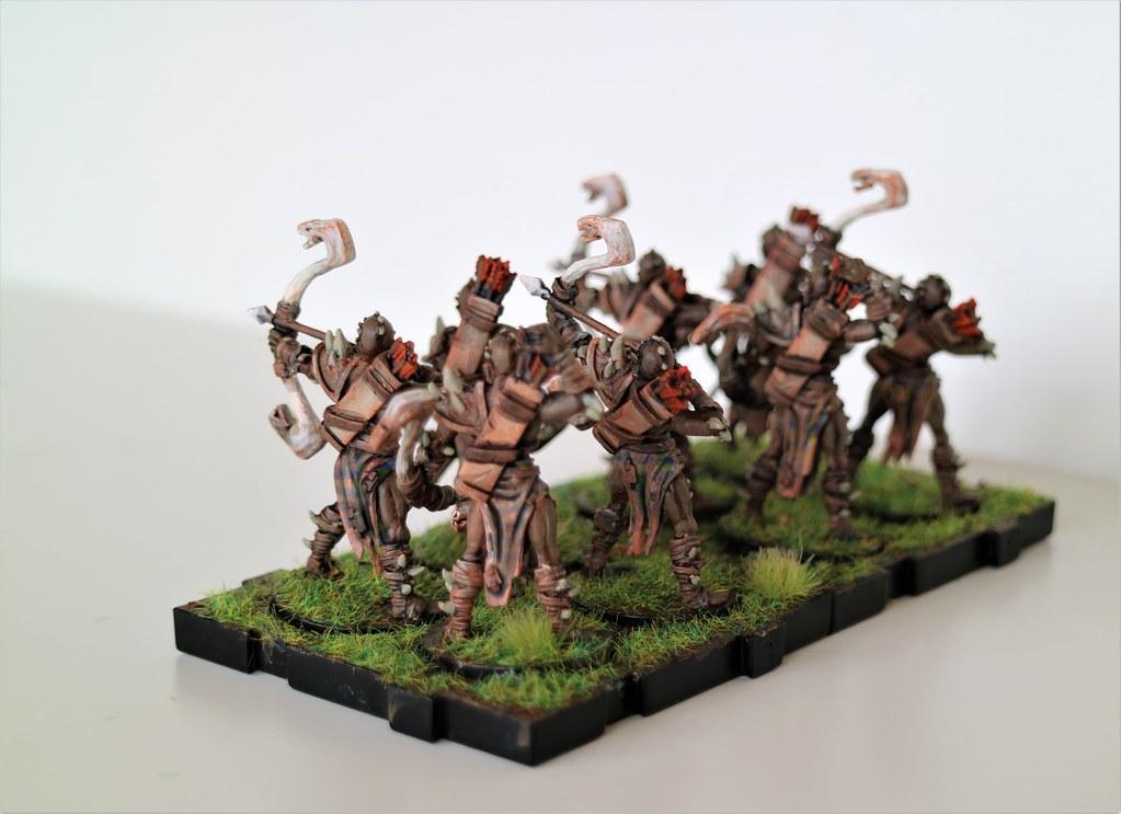 Runewars Miniatures Viper Legion Back