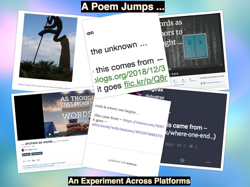 A Poem Jumps (the pieces)