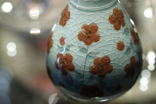 Vase (Celadon Pottery with a beautiful history)