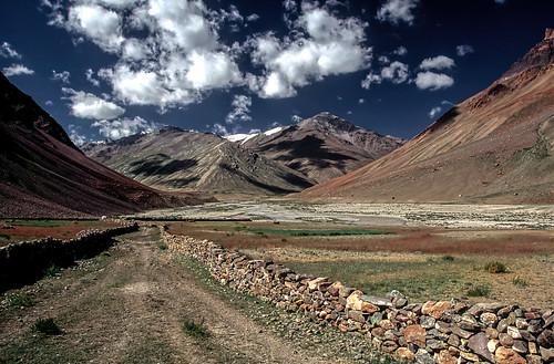 Down the Tsarap Valley to Phutgal.
