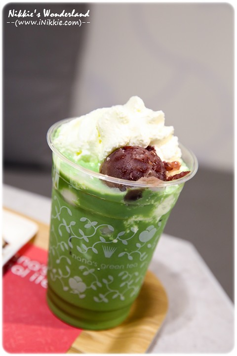 nana's green tea 抹茶白玉紅豆奶霜拿鐵 高雄 漢神巨蛋 5樓