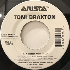 TONI BRAXTON:HIT THE FREEWAY(LABEL SIDE-B)