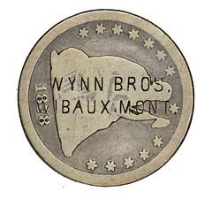 Wynn Bros. Montana Counterstamp obverse