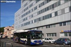 Irisbus Citélis 12 GNC - Tisséo n°1018