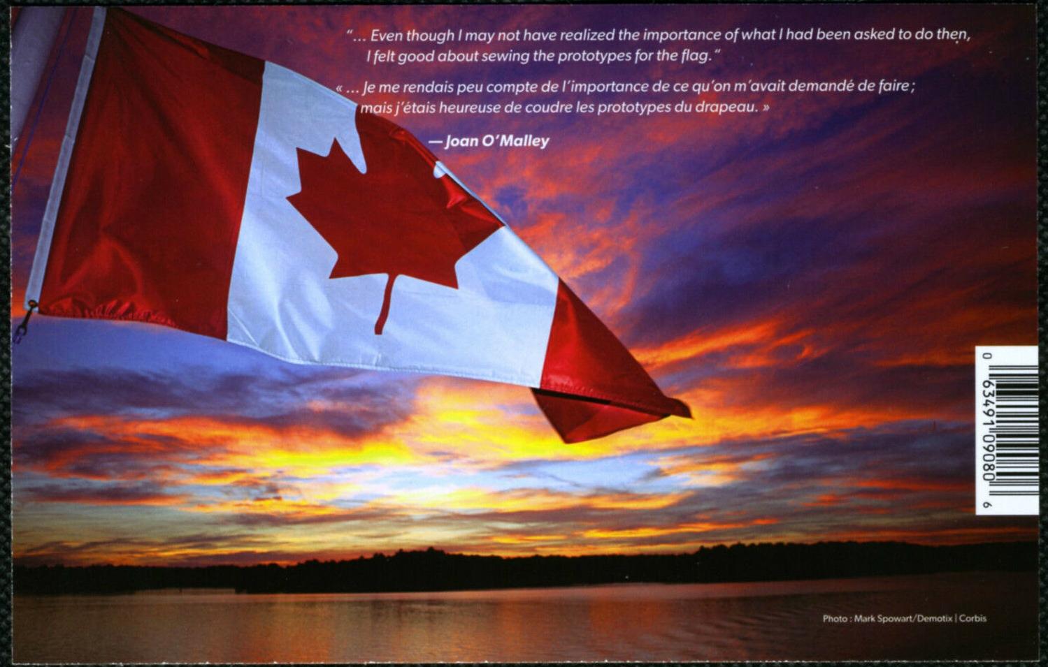 Canada - Scott #2808 (2015) backing paper