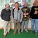 Les finalistes du concours de boules plombées en doublette formée à St Martin organisé par l'EMSM le 23/02/2019
