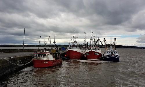 Fishing Boats at Duncannon