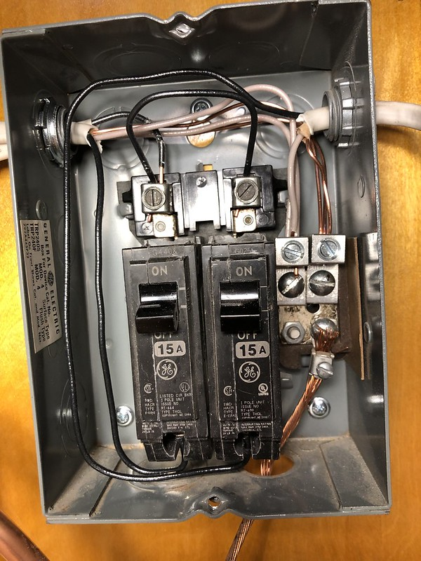 [DIAGRAM_5NL]  Breaker Box Wiring in RVs | Vintage Trailer Talk | Vintage Travel Trailer Fuse Box |  | Vintage Trailer Talk - ProBoards