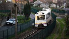 Un dos últimos trens do ano