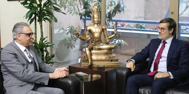 Venezuela y la India abogan por el diálogo desde la ONU