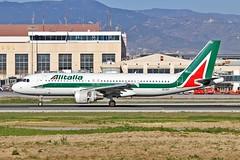 EI-IKF Airbus A.320-214 Alitalia AGP 07-02-19